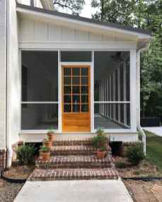 12 Gorgeous Farmhouse Screened In Porch Design Ideas for Relaxing