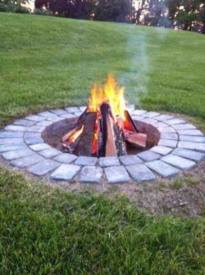16 Easy Cheap Backyard Fire Pit Seating Area Design Ideas