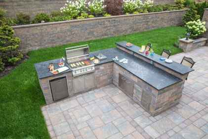 20 Awesome Outdoor Kitchen and Grill Backyard Ideas for Summer
