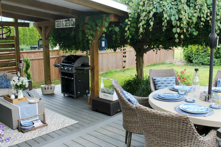 22 Amazing Backyard Patio Seating Area Ideas for Summer