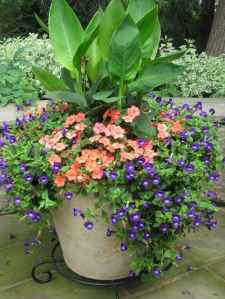 22 Fresh and Easy Summer Container Garden Flowers Ideas