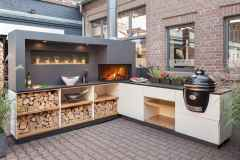 24 Amazing Outdoor Kitchen Design for Your Summer Ideas