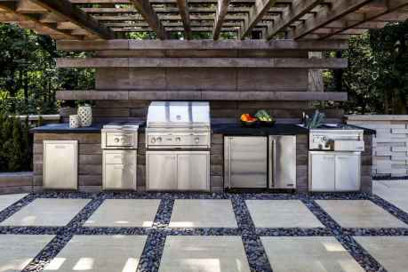 28 Amazing Outdoor Kitchen Design for Your Summer Ideas
