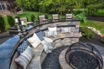 30 Easy Cheap Backyard Fire Pit Seating Area Design Ideas