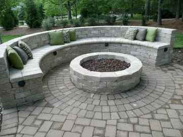 33 Easy Cheap Backyard Fire Pit Seating Area Design Ideas