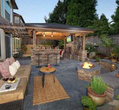 39 Amazing Outdoor Kitchen Design for Your Summer Ideas