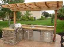 41 Awesome Outdoor Kitchen and Grill Backyard Ideas for Summer