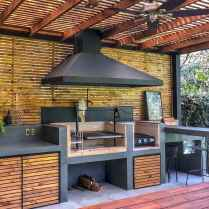 42 Amazing Outdoor Kitchen Design for Your Summer Ideas