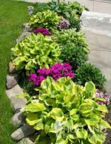 43 Fresh and Beautiful Front Yard Flowers Garden Landscaping Ideas