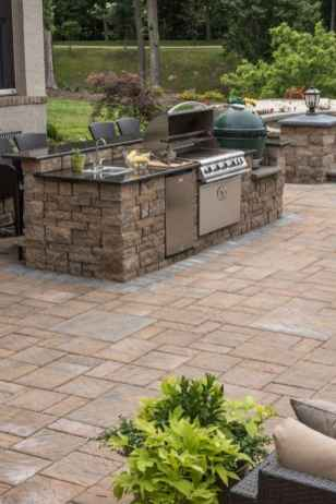 44 Awesome Outdoor Kitchen and Grill Backyard Ideas for Summer
