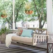 50 Awesome Farmhouse Porch Swing Plans Ideas