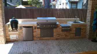 54 Awesome Outdoor Kitchen and Grill Backyard Ideas for Summer