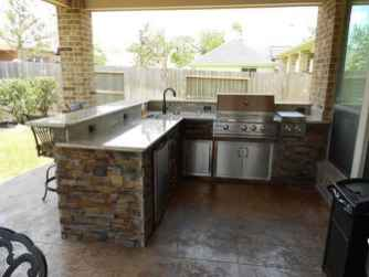 55 Awesome Outdoor Kitchen and Grill Backyard Ideas for Summer