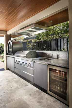 56 Awesome Outdoor Kitchen and Grill Backyard Ideas for Summer