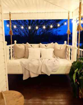 57 Awesome Farmhouse Porch Swing Plans Ideas