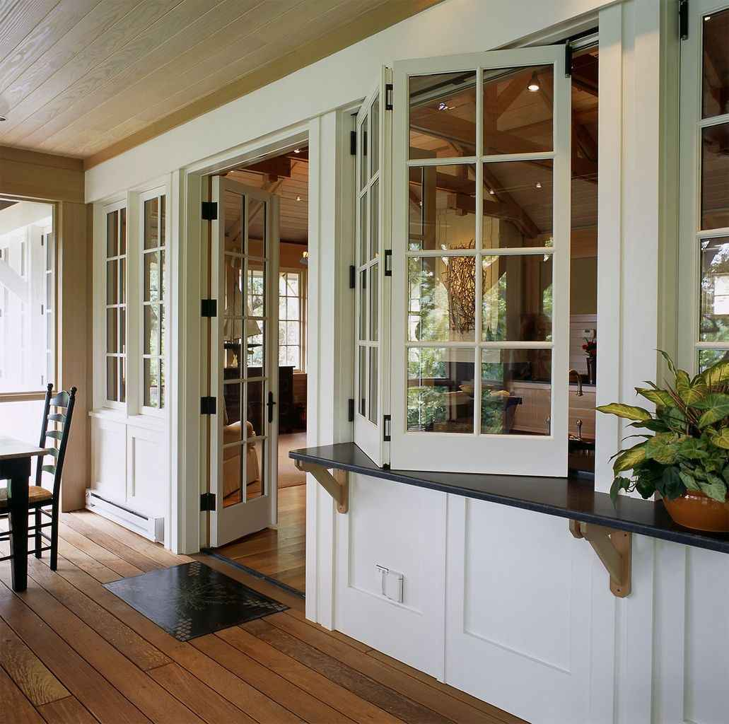 57 Gorgeous Farmhouse Screened In Porch Design Ideas for Relaxing