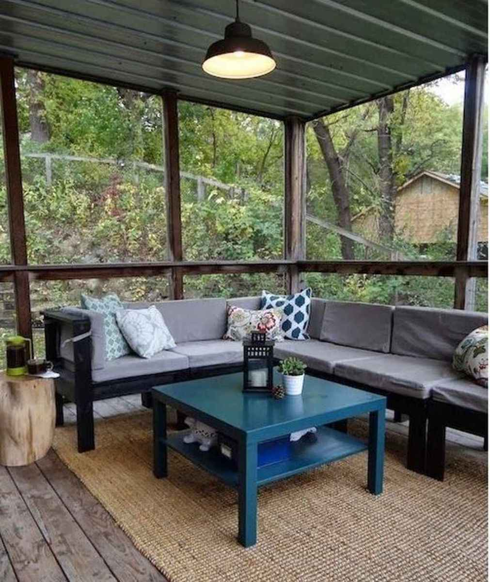 60 Gorgeous Farmhouse Screened In Porch Design Ideas for Relaxing