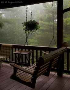 61 Awesome Farmhouse Porch Swing Plans Ideas