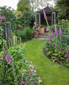 65 Beautiful Small Cottage Flowers Garden for Backyard Ideas