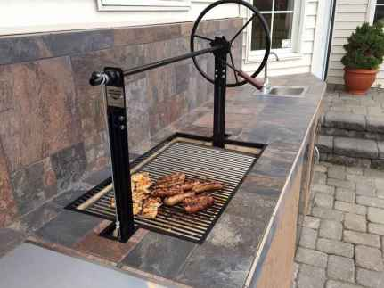 66 Awesome Outdoor Kitchen and Grill Backyard Ideas for Summer