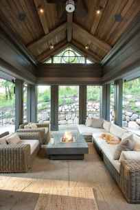 68 Gorgeous Farmhouse Screened In Porch Design Ideas for Relaxing