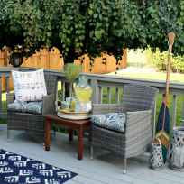 69 Amazing Backyard Patio Seating Area Ideas for Summer