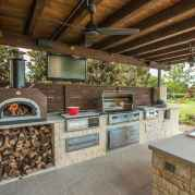 69 Awesome Outdoor Kitchen and Grill Backyard Ideas for Summer