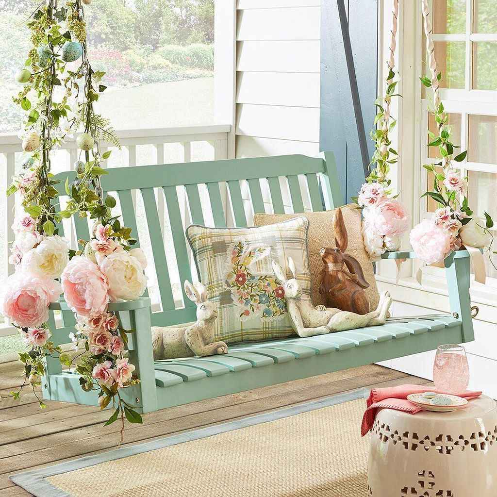 70 Awesome Farmhouse Porch Swing Plans Ideas