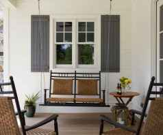 72 Small Front Porch Seating Ideas for Farmhouse Summer