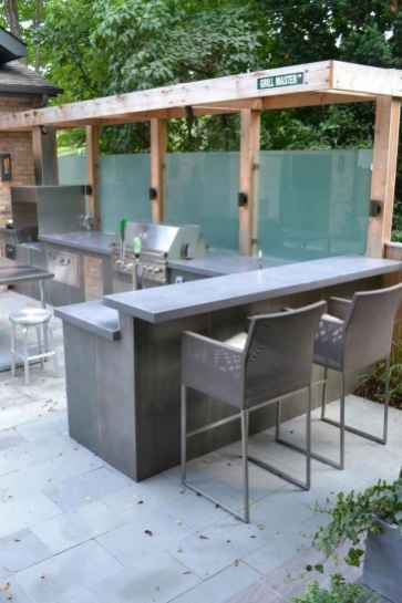 74 Awesome Outdoor Kitchen and Grill Backyard Ideas for Summer