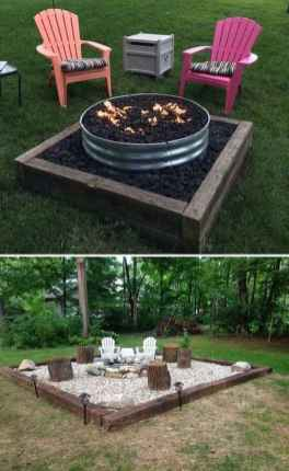74 Easy Cheap Backyard Fire Pit Seating Area Design Ideas