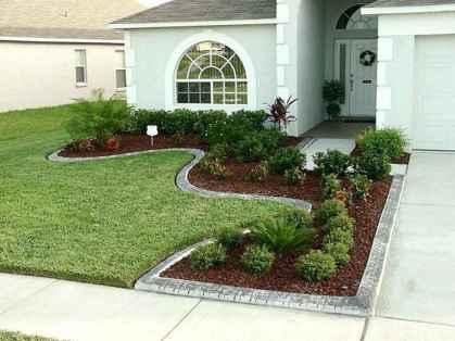 74 Fresh and Beautiful Front Yard Flowers Garden Landscaping Ideas