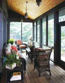 74 Gorgeous Farmhouse Screened In Porch Design Ideas for Relaxing