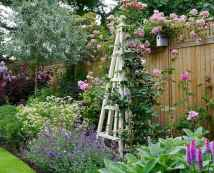76 Beautiful Small Cottage Flowers Garden for Backyard Ideas