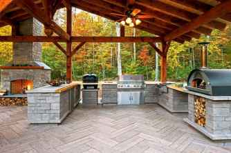 79 Amazing Outdoor Kitchen Design for Your Summer Ideas