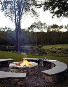 83 Easy Cheap Backyard Fire Pit Seating Area Design Ideas