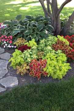 84 Fresh and Beautiful Front Yard Flowers Garden Landscaping Ideas