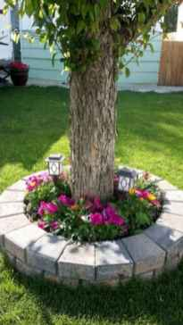 87 Fresh and Beautiful Front Yard Flowers Garden Landscaping Ideas