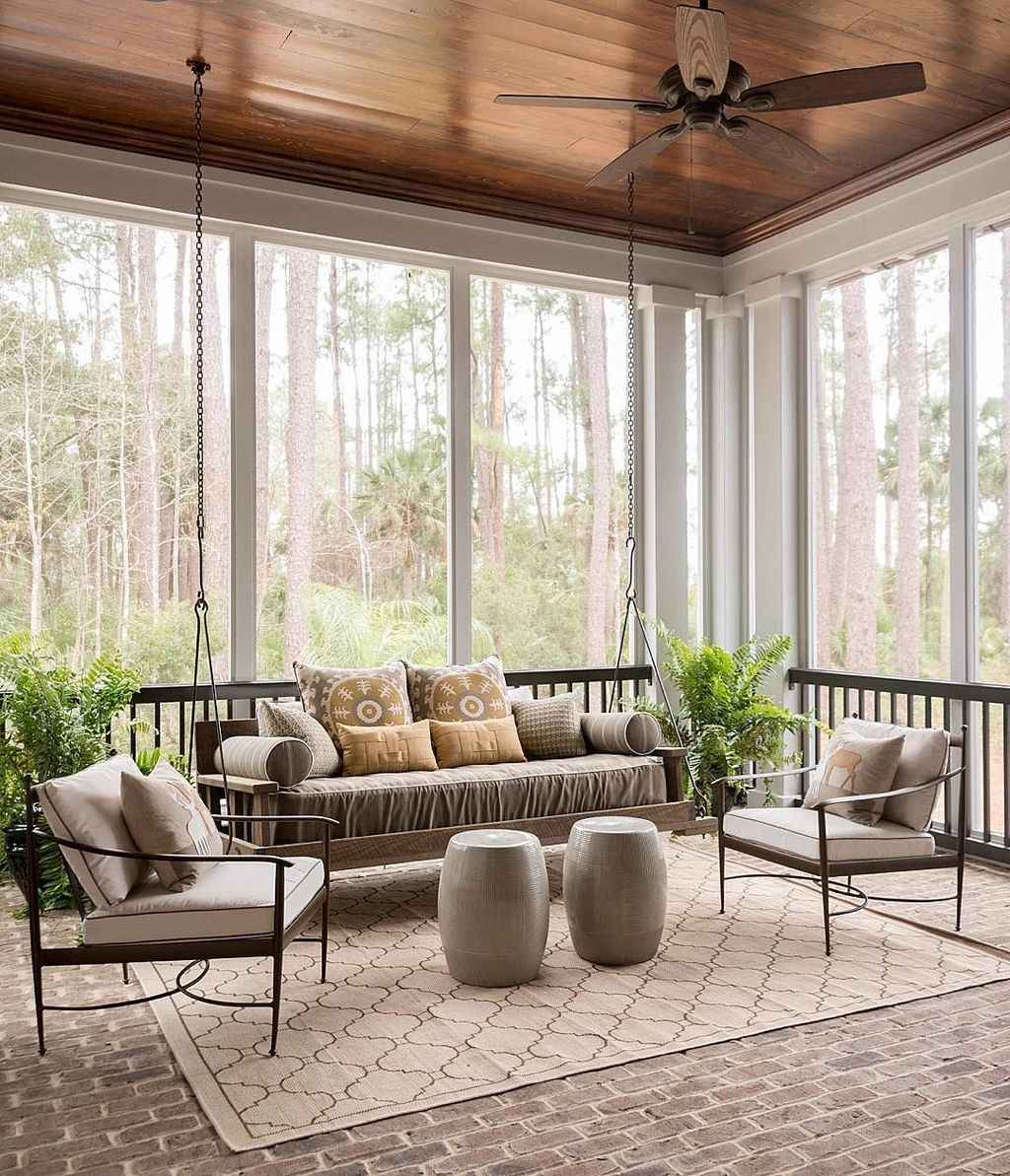 88 Gorgeous Farmhouse Screened In Porch Design Ideas for Relaxing
