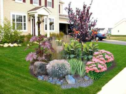 92 Fresh and Beautiful Front Yard Flowers Garden Landscaping Ideas