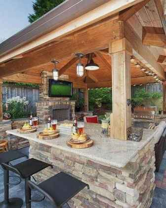 95 Awesome Outdoor Kitchen and Grill Backyard Ideas for Summer