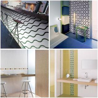 decorar paredes con azulejos y ceramica