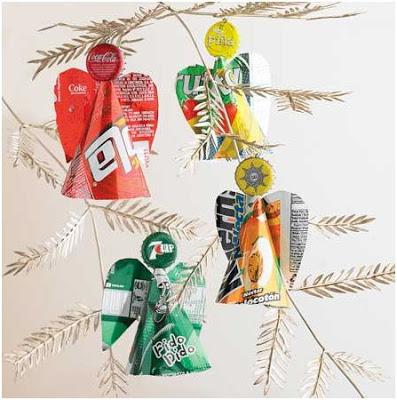 decorar la navidad reciclando