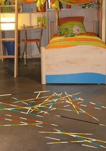 decorar suelos con pegatinas