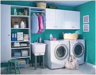 Consejos para el cuarto de lavado o lavadero for Modelos de lavaderos