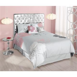 decorar con rosa y plata