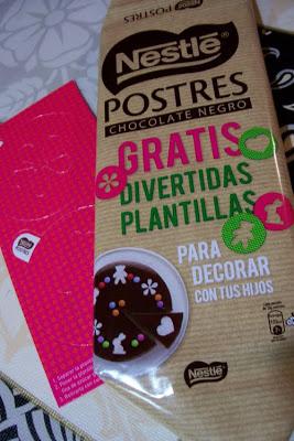 plantillas para decorar postres con azucar, cacao en polvo o canela