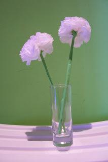decoracion fresca con verde
