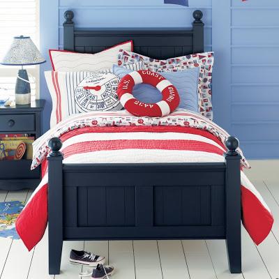 decorar con rojo blanco azul
