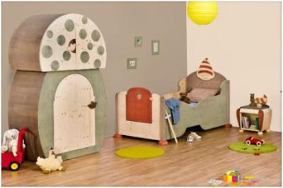 decorar con setas un dormitorio infantil